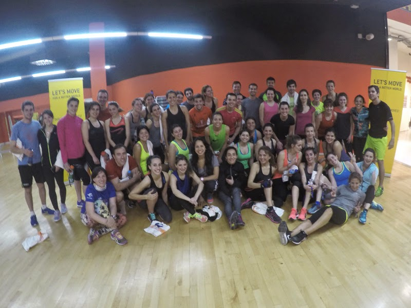 Fit4Running evento On my Training Shoes Gimnasio Físico