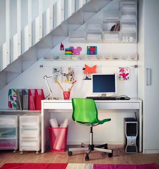 Ikea Keuken Uitzoeken : 2013-ikea-interior-design-ideas-white-understair-home-office-2013-ikea