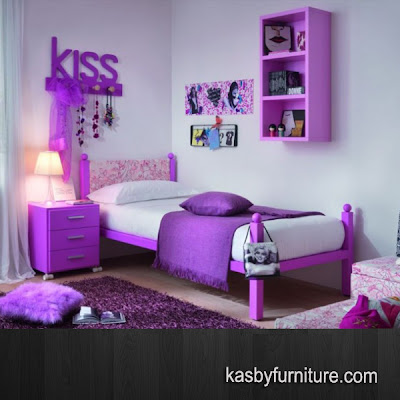 Set Bedroom Anak Warna funcy