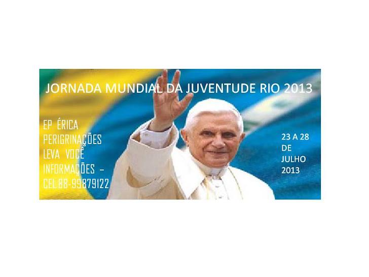vamos a JMJ 2013 Rio