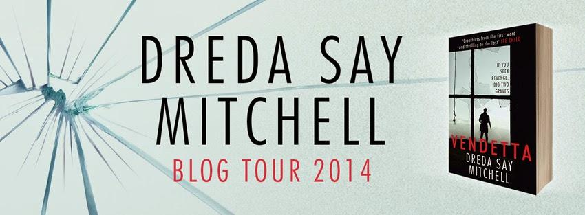 Dreda Say-Mitchell, Blog Tour starts with me 6th November