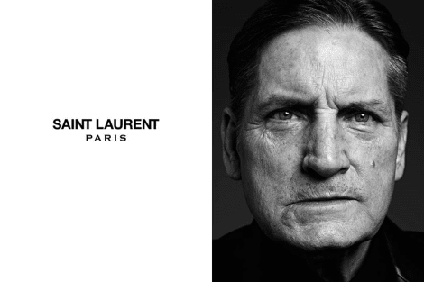 Joe Dallesandro by Hedi Slimane for Saint Laurent Paris