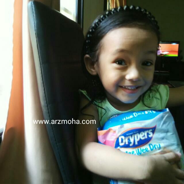 drypers wee wee dry minipack, cik puteri dan drypers mini pack, drypers,