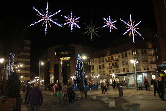 Iluminación navideña en Bide Onera