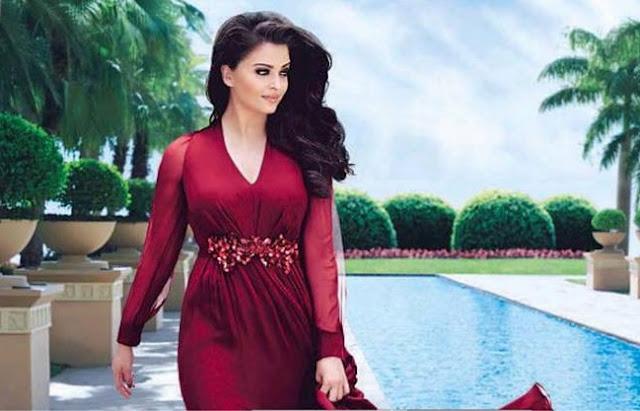 Aishwarya Rai hot in Red