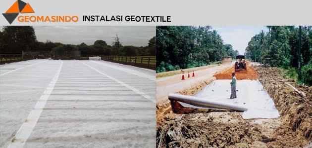 Instalasi Geotextile