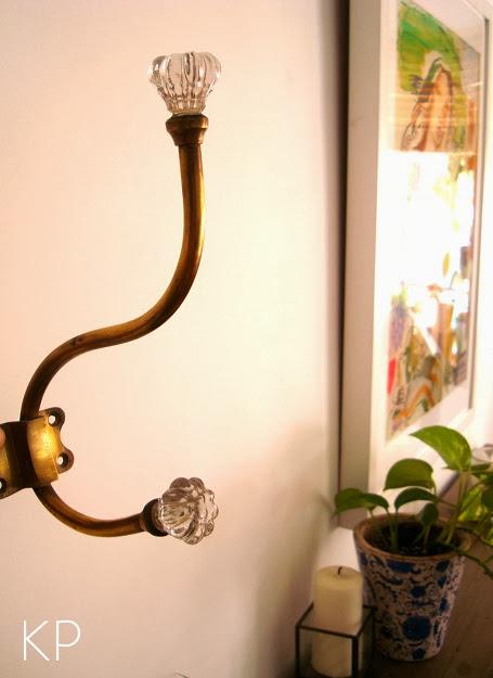 Comprar colgador vintage de latón y bronce