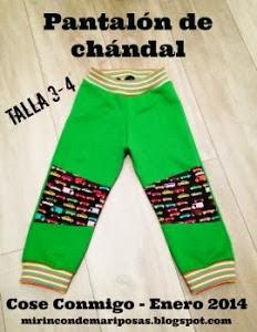 Cosemos un pantalón con MRdM