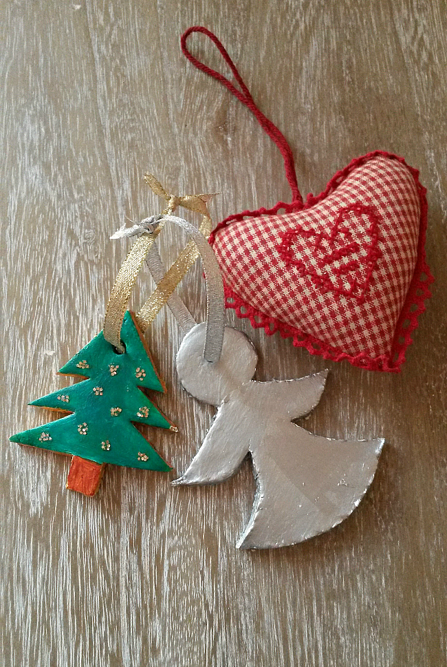 Guest post diy christmas clay ornaments‏ tessa holly
