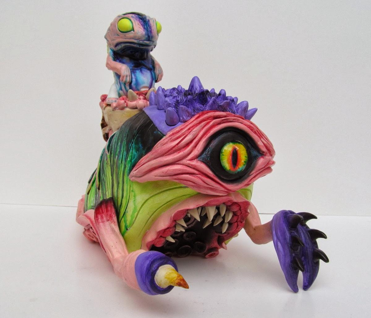 Really Weird Toys : Brent nolasco strange days toy art gallery