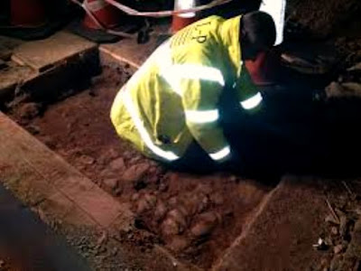 Roman roads discovered at Chester theatre site