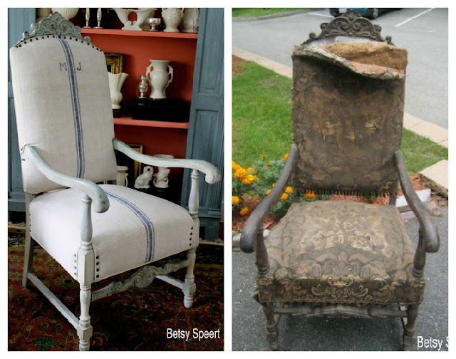 Betsy Speerts Blog How to Upholster a Chair or what did I get