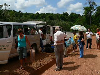 Taxis collectif entre Cayenne et Saint Georges