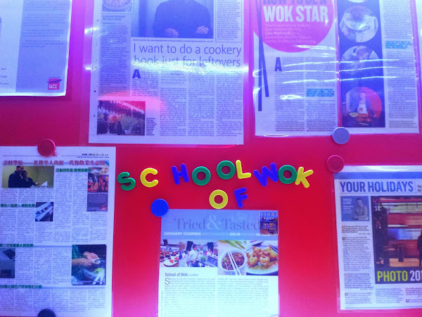 wok + roll // school of wok // london