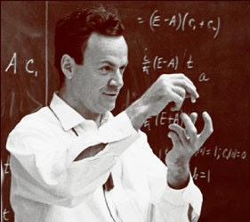 Image of the late richard feynman