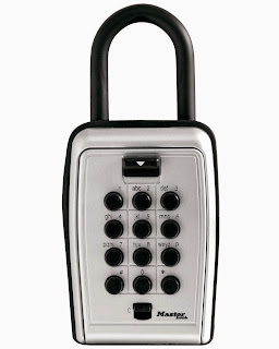 Master Lock Set Your Own Combination Push Button Portable Key Safe