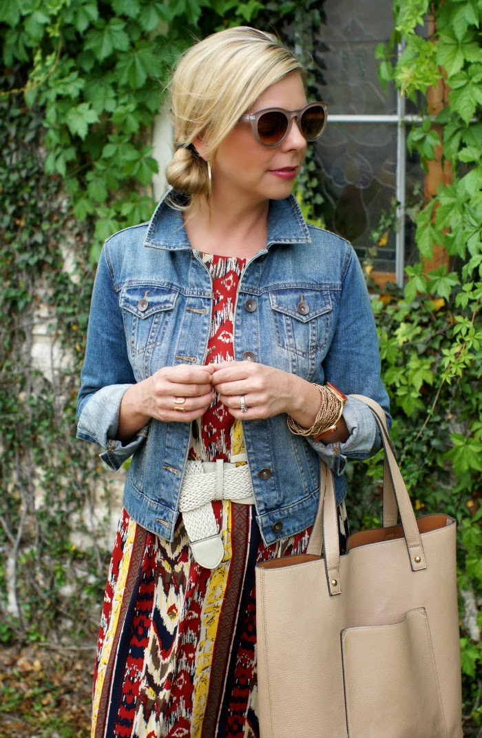 ways to style a denim jacket