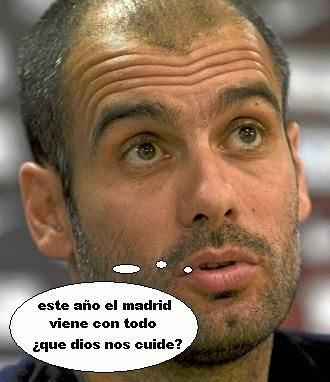 Pep Guardiola: Humor, Witze, Unsinn, Whatsapp, Witze, Spott und Meme. FC Bayern München - Real Madrid. Cachondeo