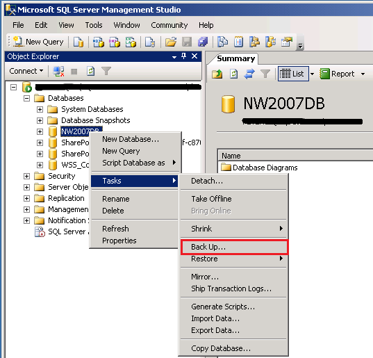 how to move wsus database to mssql