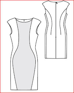 diseño-vestido-bicolor