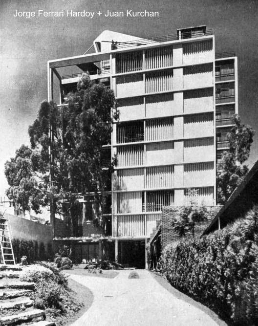 Edificio de estilo Moderno en Buenos Aires proyectado en 1941