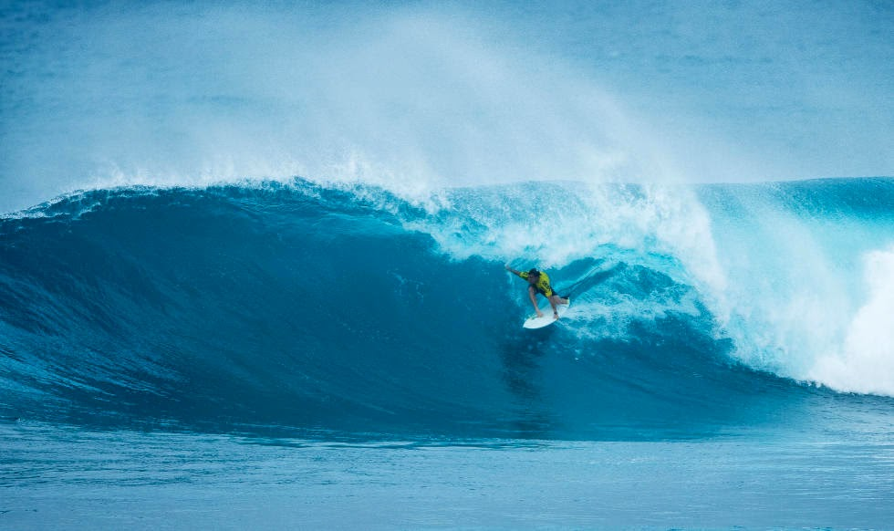 4 Vans World Cup of Sufing 2014 Glenn Hall Foto ASP