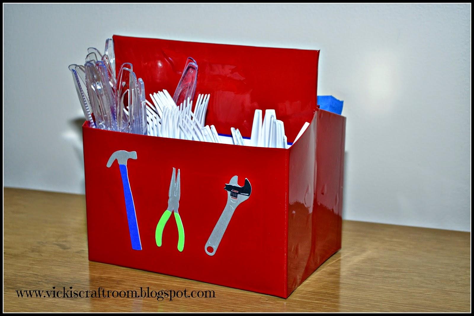 Vicki S Craft Room Tool Birthday Party