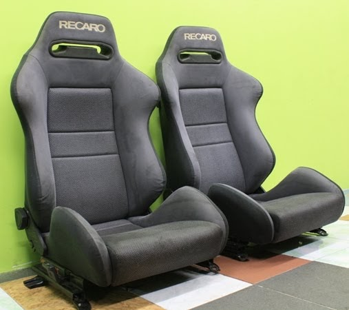 dingz garage seat recaro mitsubishi lancer evo 3 complete. Black Bedroom Furniture Sets. Home Design Ideas