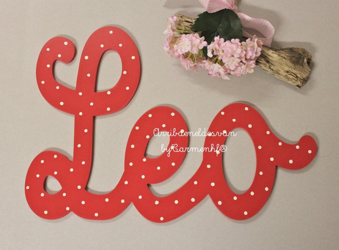 2 agosto letras decorativas infantiles decoraci n - Letras decorativas pared ...