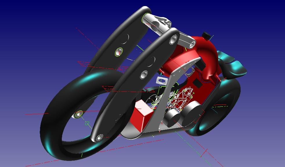 Wraith CAD image