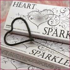 http://weddingdaysparklers.com/heart-shaped-wedding-sparklers/