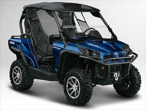 2012 Can-Am Commander 1000 Limited ATV pictures. 480x360 pixels