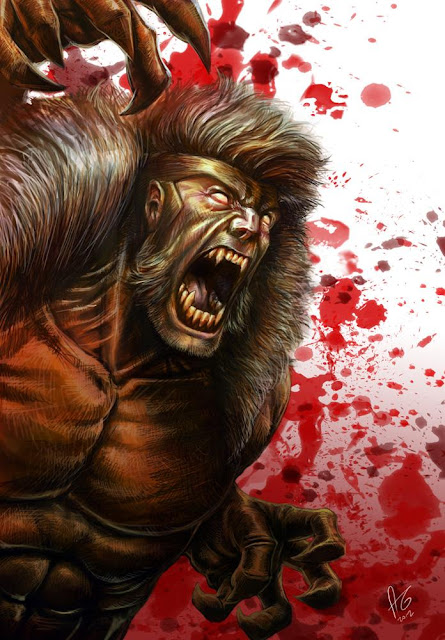 Sabretooth Scary Picture