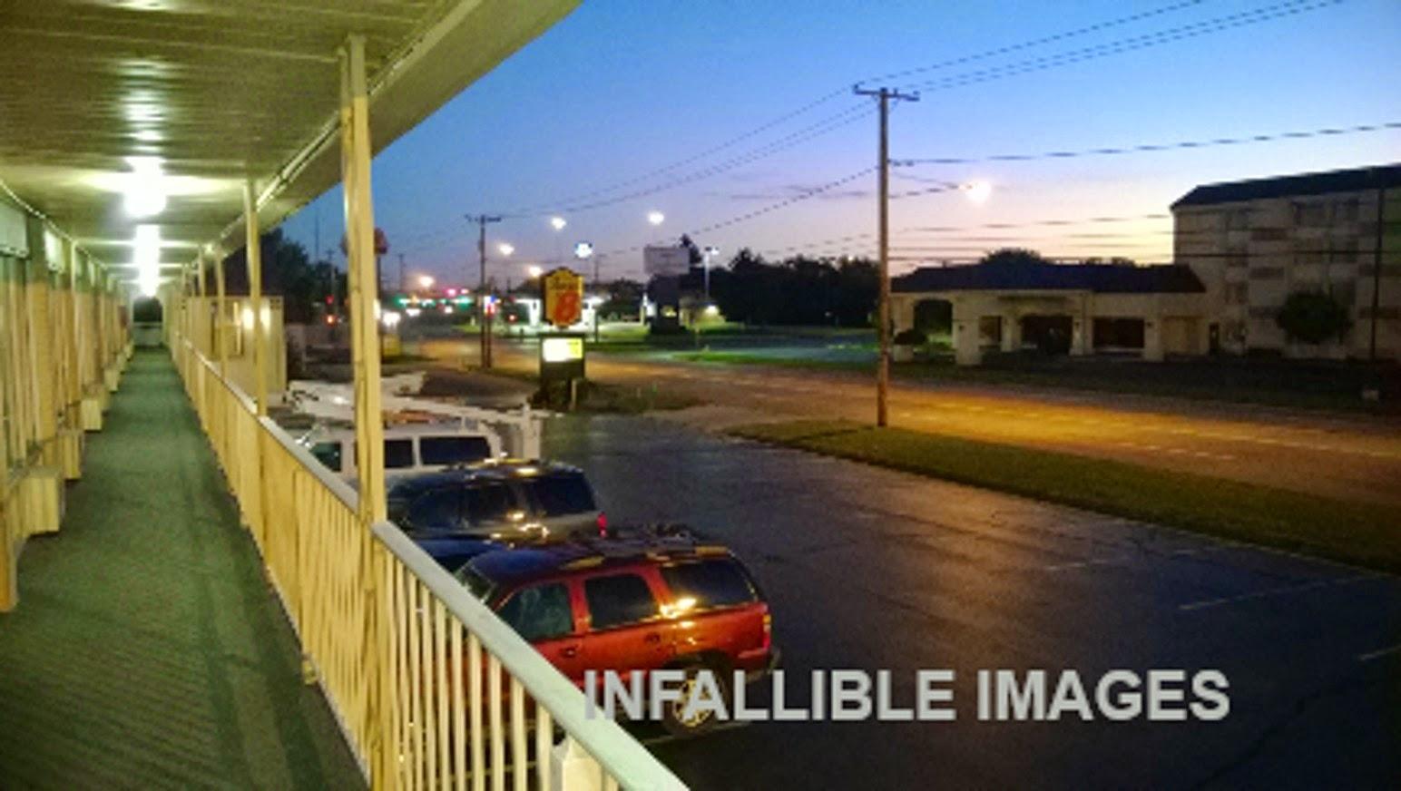 information hub dayton ohio night view