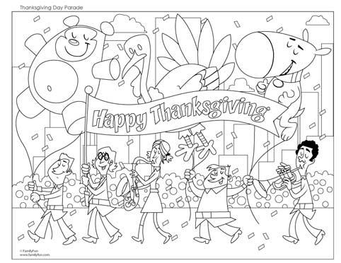 Thanksgiving Coloring Pages Pencils11