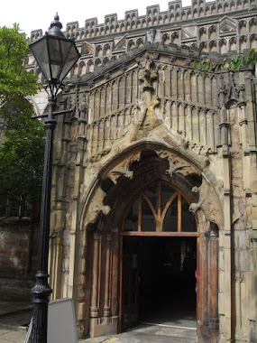 Entrance porch- St Marys Church, Lacemarket, Nottingham