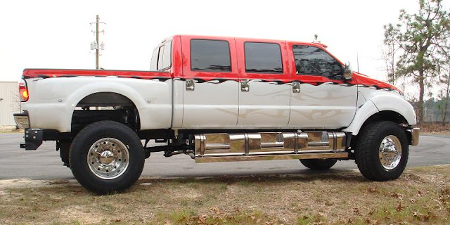 F650 6 Door Super Truck For Saleml