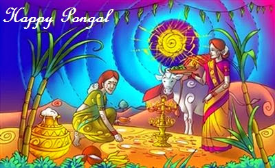 Happy Pongal 2016 Greetings Wishes Quotes Sayings Facebook Status in English