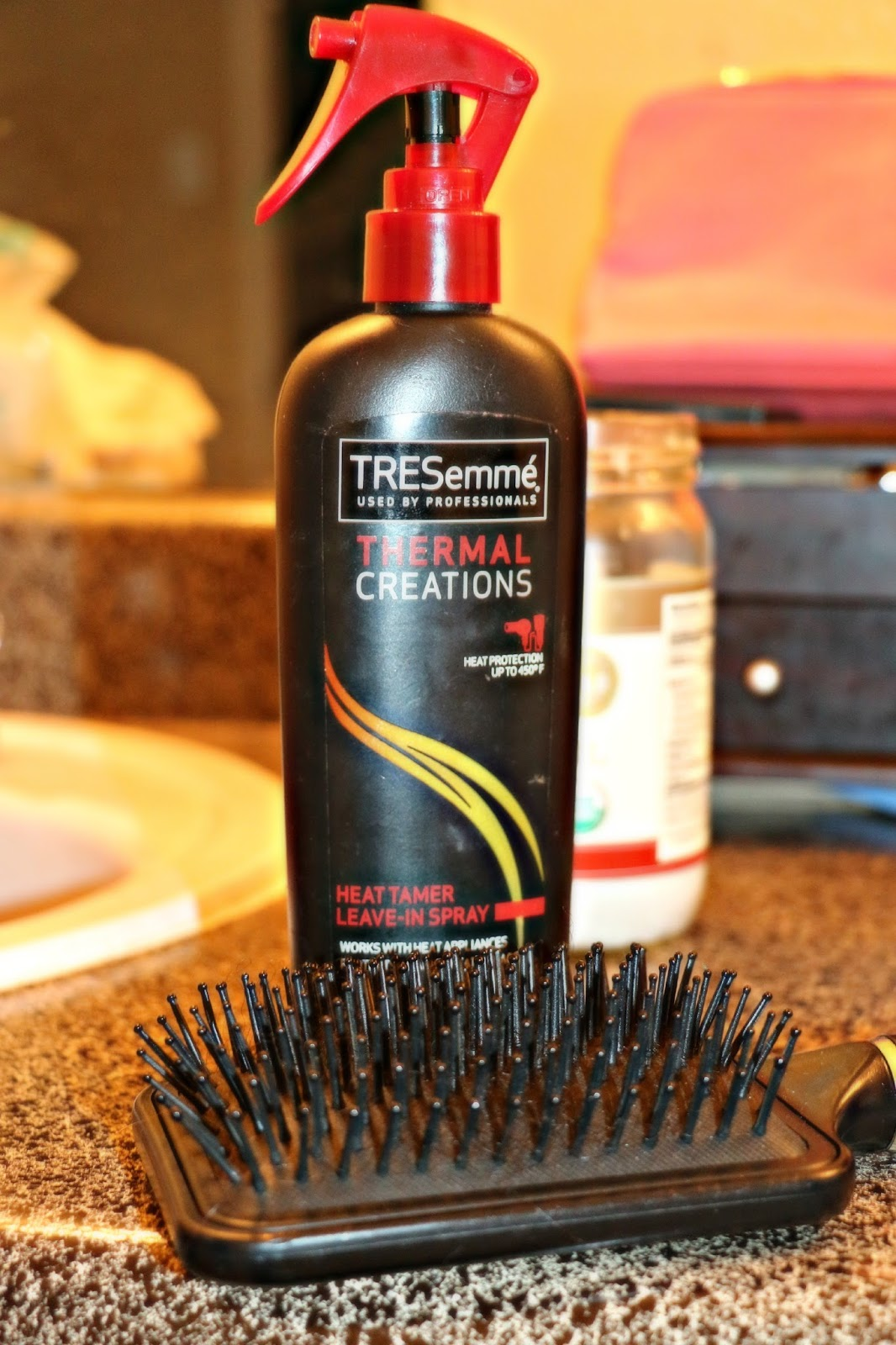 How I Straighten My 4C Natural Hair TcholesWorld
