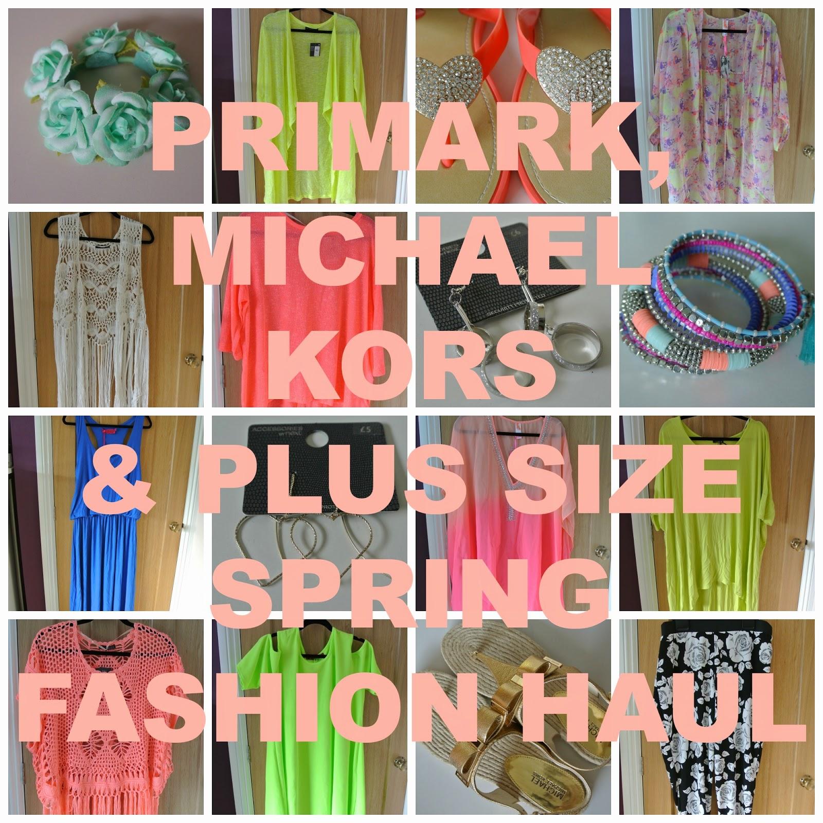 Springtime plus size fashion haul