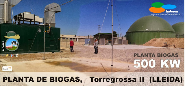 planta de biogas torregrossa 2 500 KW INDEREN biodigestores ENERGIAS RENOVABLES VALENCIA ecobiogas INSTALACIONES 002