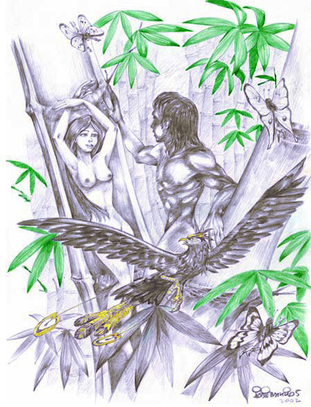 the creation of malakas and maganda Malakas and maganda one of the creation myth is the story of malakas and maganda - the filipino version of adam and eve the story explains how a crow got angry and strated pecking on a bamboo and how malakas and maganda were born.