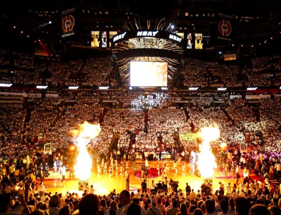 Wallpapers Miami Heats Arena Heat Nba 1024x768  197205 miami