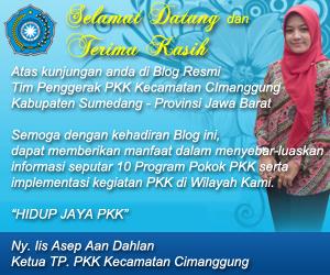 Sambutan Ketua TP. PKK Kecamatan Cimanggung