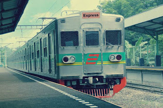 stasiun kereta di Bintaro Jaya The Professional's City - Perumahan jakarta selatan