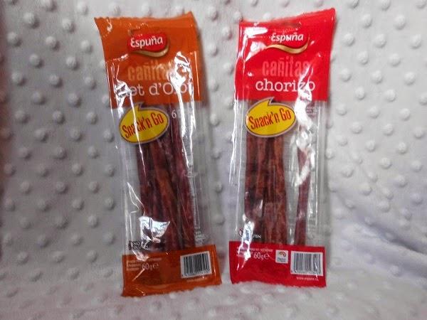 Cañitas de Fuet y Chorizo de Espuña