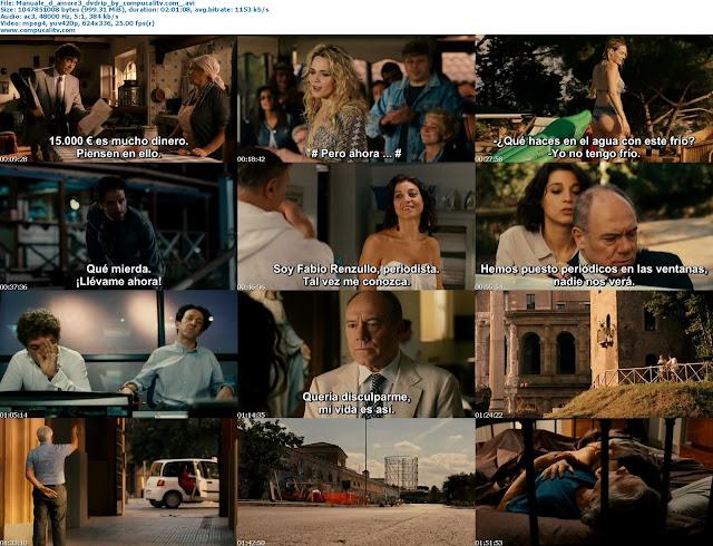 Manuale d'amore 3 2011 DVDRip Italiano Subtitulos Español Latino Descargar