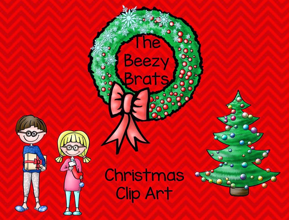 http://www.teacherspayteachers.com/Product/The-Beezy-Brats-Christmas-Clip-Art-1597815