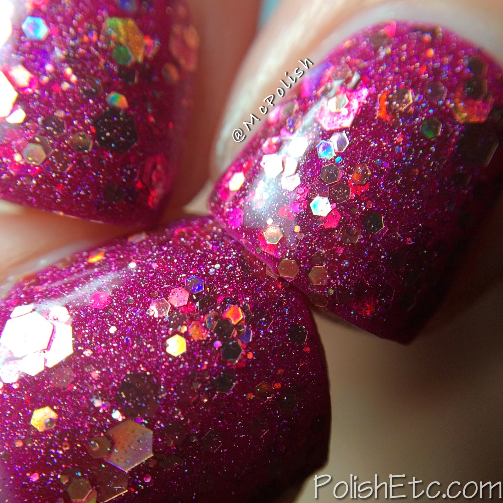 Nayll custom nail polishes - McPolish - Dawn - MACRO