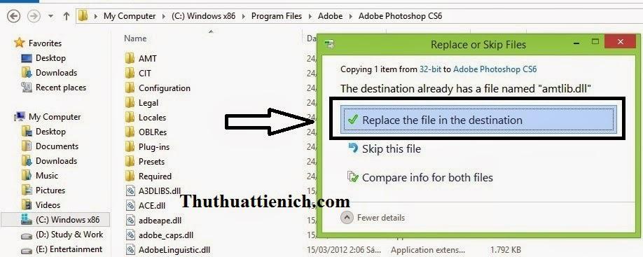 Hướng dẫn cài đặt và Crack Photoshop CS6 bằng hình ảnh